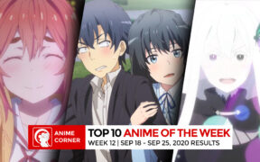 Anime Corner Weekly Anime Rankings - Week 12 Top 3