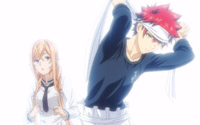 shokugeki no souma original ending - scene from episode