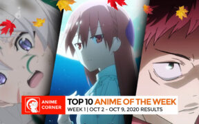 Fall 2020 Anime Rankings Week 1 Top 3