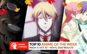 Anime Rankings Fall 2020 - Week 5 Top 3