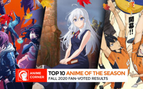 Top 3 Anime of the Season Fall 2020