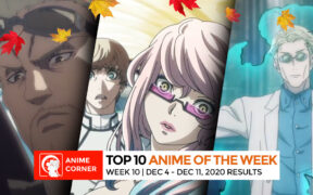 Fall 2020 Anime Rankings Week 10 Top 10