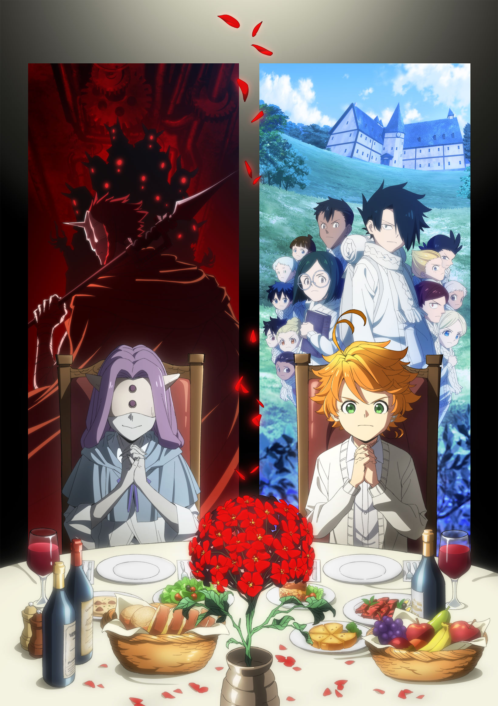 cloverworks 3 shows winter 2021 - The Promised Neverland
